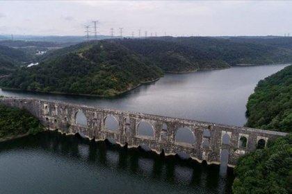 İstanbul'daki baraj doluluk oranı yüzde 56,20'ye yükseldi