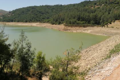 İzmir Büyükşehir Belediyesi, afette zarar gören Balabandere Göleti'ni onardı