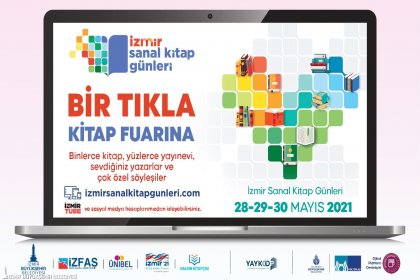 İzmir Sanal Kitap Günleri yazarlarla okurları buluşturacak