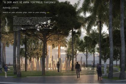 10 Ekim Katliamı'nda yaşamını yitirenler İzmir'de 'Aydınlığa Yürüyüş' anıtıyla ölümsüzleşecek