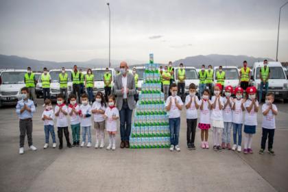 İzmir'de 'Süt Kuzusu' projesinden yararlanan çocuk sayısı 156 bini geçti