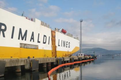 İzmit Körfezi'ni kirleten gemiye 3.4 milyon lira ceza