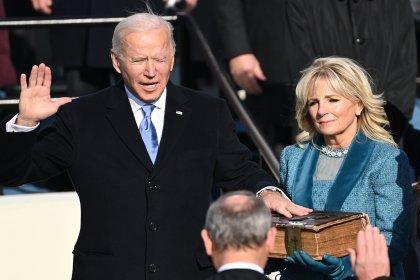 Joe Biden yemin ederek resmen ABD'nin 46. başkanı oldu