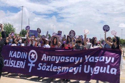 Kadınlar, İstanbul Sözleşmesi için Maltepe'de toplandı