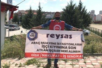 Kastamonu'da Reysaş Tüvtürk direnişi 592. gününde