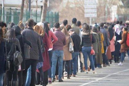 Kayıtlı işsiz sayısı 244 bin kişi arttı