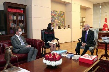 Kılıçdaroğlu, AB Türkiye Delegasyon Başkanı Büyükelçi Meyer-Landrut ile görüştü