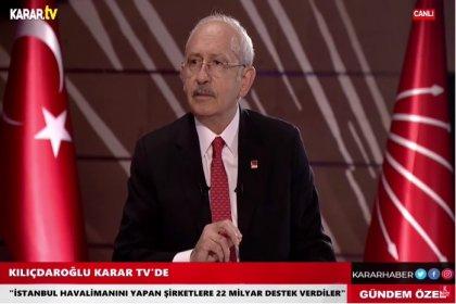 Kılıçdaroğlu; Erdoğan, bir güvenlik sorunu haline gelmiştir, egemen güçlere karşı Türkiye'nin çıkarlarını savunacak noktada değildir