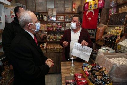 Kılıçdaroğlu, Kırıkkaleli esnafla buluştu