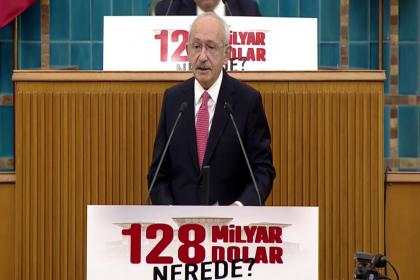 Kılıçdaroğlu Merkez Bankası'nın 128 milyar dolarının nerede olduğunu sordu, 'Devletin soyulduğu belli' dedi