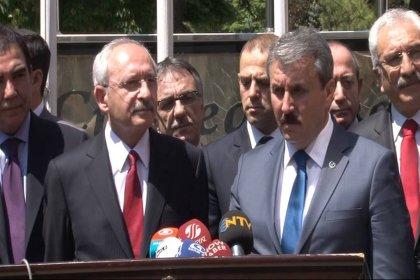Kılıçdaroğlu, Mustafa Destici ile görüşecek