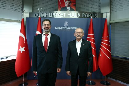 Kılıçdaroğlu, Prof. Daron Acemoğlu'nu kabul etti