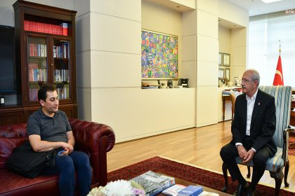 Kılıçdaroğlu Rabia Naz'ın Babası Şaban Vatan'la görüştü