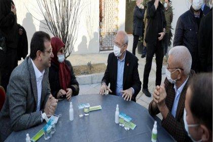 Kılıçdaroğlu ve İmamoğlu'ndan cami ve cemevi ziyareti