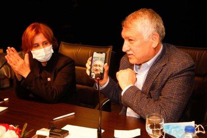 Kılıçdaroğlu ve Zeydan Karalar'dan apartman görevlilerine destek
