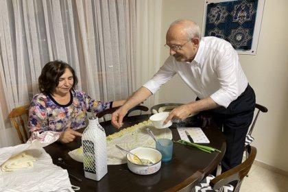 Kılıçdaroğlu'ndan bayram böreği mesaisi