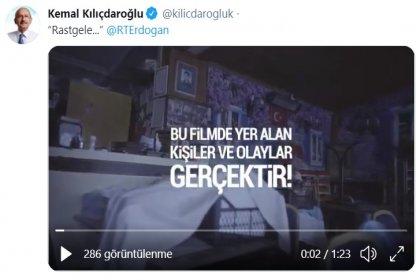 """Kılıçdaroğlu'ndan, Erdoğan'a """"Rastgele"""""""