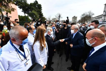 Kılıçdaroğlu'ndan Eşrefpaşa Hastanesi'ne ziyaret