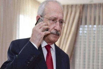 Kılıçdaroğlu'ndan Gara şehitlerinin ailelerine baş sağlığı telefonu