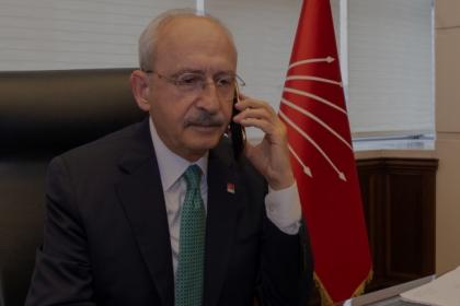 Kılıçdaroğlu'ndan KKTC Cumhurbaşkanı Ersin Tatar'a ve gazeteci Selahattin Duman'ın ailesine baş sağlığı telefonu