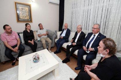 Kılıçdaroğlu'ndan Oğuz Yılmaz'ın ailesine taziye ziyareti