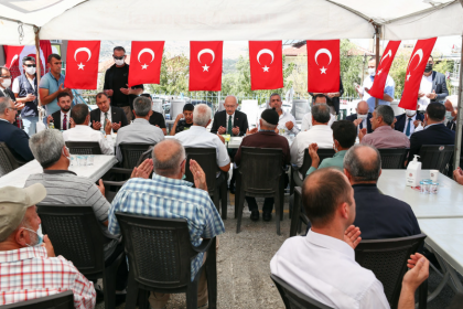Kılıçdaroğlu'ndan şehit ailesine taziye ziyareti