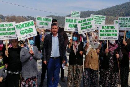 Köylüler maden ocağına karşı ayaklandı