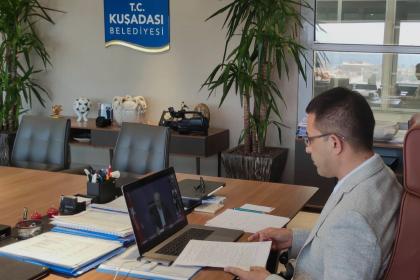 Kuşadası Belediye Başkanı Günel, Kılıçdaroğlu'na belediye çalışmalarıyla ilgili bilgi verdi