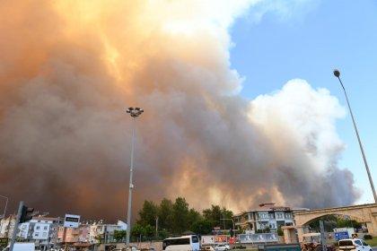 Manavgat'ta orman yangını: Yerleşim yerlerine de sıçradı