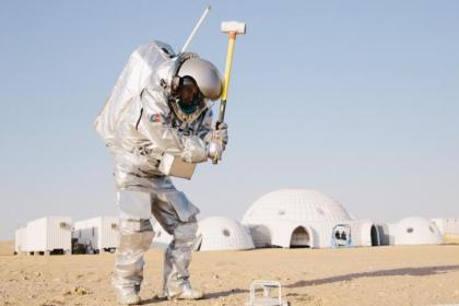 Mars'taki inşaatlarda kan ve idrar kullanılacak