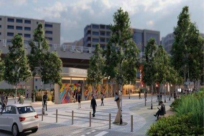 Mecidiyeköy Meydanı yenileniyor