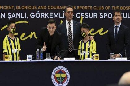 Mesut Özil artık Fenerbahçe'de