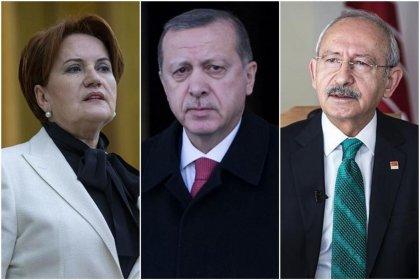 Metropoll'den Erdoğan, Kılıçdaroğlu ve Akşener'le ilgili 'beğeni' anketi