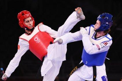 Milli tekvandocu Hakan Reçber, bronz madalya finaline yükseldi