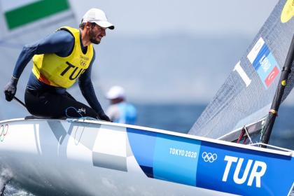 Milli yelkenci Alican Kaynar, Tokyo 2020'de adını finale yazdırdı