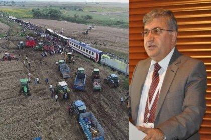 Mısra Öz'den, Çorlu tren faciasının ilk bilirkişilerden Mustafa Karaşahin'e: Sen de bir gün hesap vereceksin