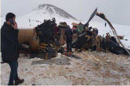 Milli Savunma Bakanlığı'ndan helikopter kazasına ilişkin açıklama