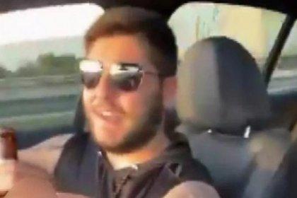 Murat Övüç'ün oğlunun araba kullanırken alkol aldığı görüntüler ortaya çıktı