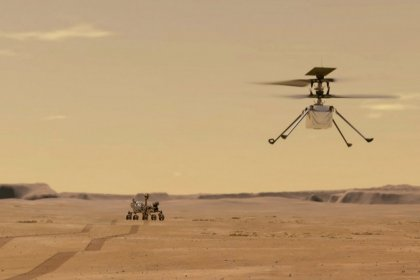 NASA'nın Mars'taki helikopteri başarıyla uçtu