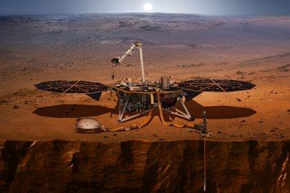 NASA'nın uzay aracı, Mars çekirdeğinin boyutunu ortaya çıkardı