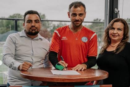 Oyuncu Erkan Kolçak Köstendil futbola geri döndü!