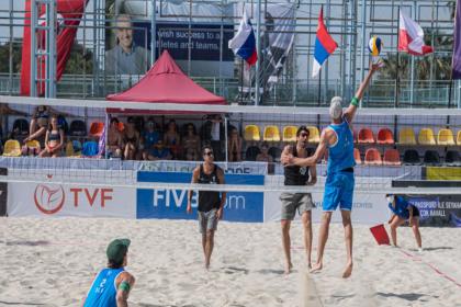 Plaj voleybolunda Erkek Milli Takımı adını finale yazdırdı