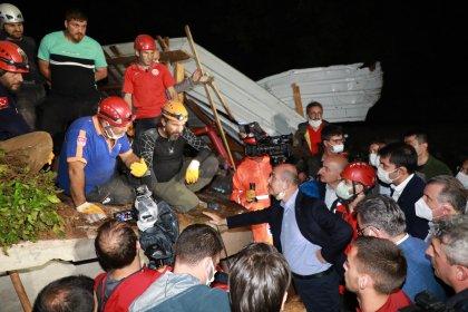 Rize'de sel felaketi: 2 kişinin cansız bedenine ulaşıldı