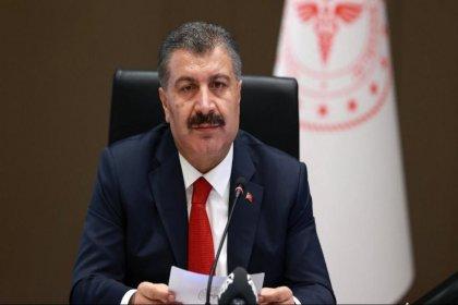 Sağlık Bakanı Dr. Fahrettin Koca. Bir ilimizin daha mavi olduğunu açıkladı