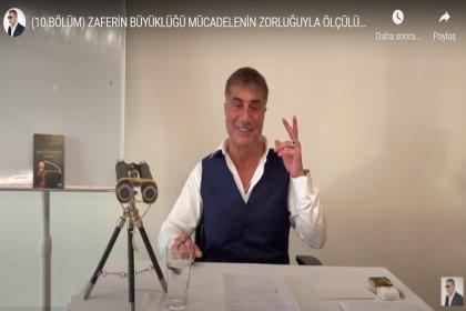 Sedat Peker 10. videoyu yayınladı; Zaferin Büyüklüğü Mücadelenin Zorluğuyla Ölçülürmüş