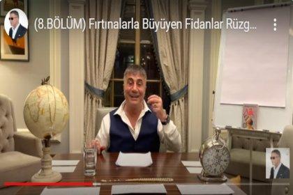 Sedat Peker 8. videoyu yayımladı; Azerbaycan'da Socar'ın alt şirketlerinde ortaklıklar var, Katar'da bankalarda paralar var, İsrail'e kimin gemileri mal götürüyor?