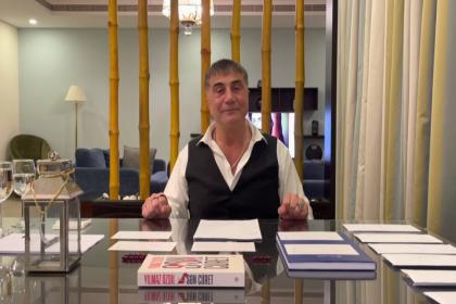 Sedat Peker'den 6. video: 'Erdoğan sonrasına kimin planları varsa bizi mahvedecekler' dedim