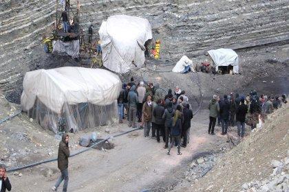 Şırnak'ta kömür ocağında göçük altında kalan işçinin cansız bedenine ulaşıldı