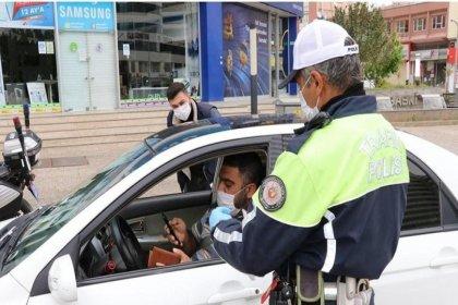 Sokağa çıkma kısıtlamasına uymayan 24 bin 437 kişiye ceza