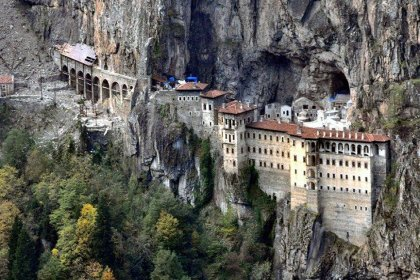 Sümela Manastırı'na teleferik inşa edilecek